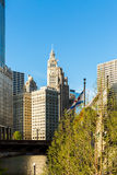 Chicago downtown in Illinois, USA Stock Images