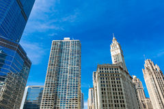 Chicago downtown in Illinois, USA Stock Photos