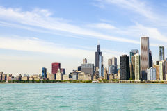Chicago Downtown Skyline Royalty Free Stock Photo