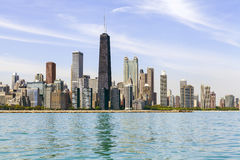 Chicago Downtown Skyline Stock Images