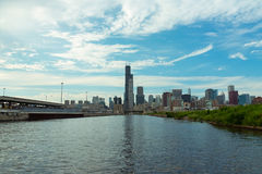 Chicago Downtown skyline view from a boat. Chicago  downtown  usa  illinois  city  town  windycity  чикаго  сша  travel  skyline  michiganlake  lake Stock Photo