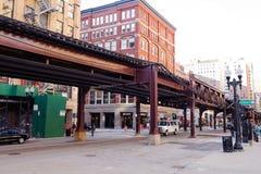 Chicago downtown Stock Photos