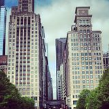 Chicago downtown Royalty Free Stock Photography