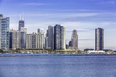 Chicago downtown view Stock Photography