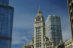 chicago drapacz chmur Zdjęcie Royalty Free