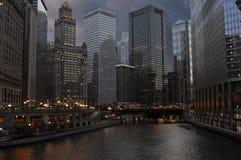 Chicago du centre Photographie stock libre de droits