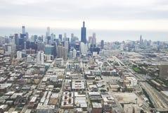 Chicago durante o dia Fotografia de Stock Royalty Free