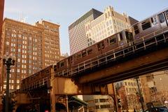 Chicago-Durchfahrt-Berechtigung lizenzfreie stockbilder