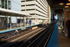 Chicago-Durchfahrt-Berechtigung lizenzfreies stockfoto