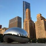 Chicago en de Boon stock fotografie