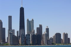 Chicago en el verano fotos de archivo libres de regalías
