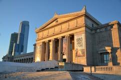 Chicago fältmuseum av naturhistoria Royaltyfri Bild
