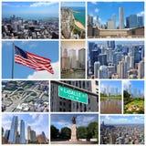Chicago Förenta staterna Royaltyfria Foton