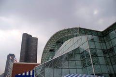 Chicago - facciata del pilastro del blu marino Fotografia Stock