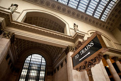 Chicago facklig station Arkivbild