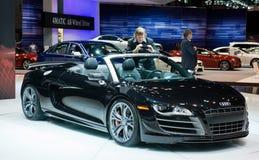 Audi in Chicago Auto toont Stock Afbeeldingen