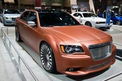Chrysler in Chicago Auto toont Royalty-vrije Stock Foto's