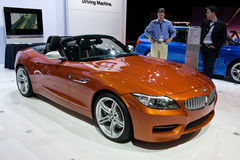 BMW in Chicago toont Royalty-vrije Stock Afbeeldingen