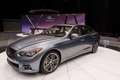 Infiniti in Chicago Auto toont Stock Afbeeldingen