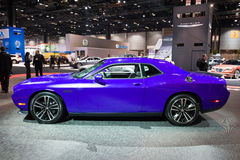 Dodge in Chicago Auto toont Royalty-vrije Stock Afbeelding