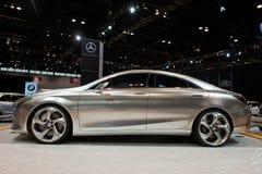 Mercedes in Chicago Auto toont Royalty-vrije Stock Fotografie