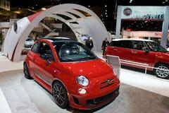 Fiat på Chicago den Auto showen Royaltyfri Bild