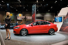 Dodge in Chicago Auto toont Royalty-vrije Stock Foto's
