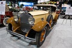 De Open tweepersoonsauto van Packard in Chicago Auto toont Stock Afbeeldingen