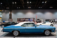 Oldsmobile på Chicago den Auto showen Royaltyfri Foto