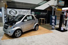 Wheego in Chicago Auto toont Royalty-vrije Stock Afbeelding