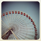 Chicago Ferris Wheel image stock