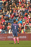 Chicago Fire Player Royalty Free Stock Images