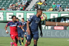 Chicago fire vs Vancouver Whitecaps Royalty Free Stock Images