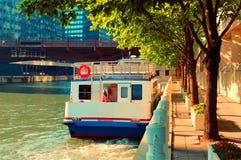 Chicago-Fluss Stockfotografie