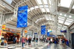 Chicago flygplats arkivfoto