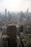 Chicago - On a foggy day Stock Images