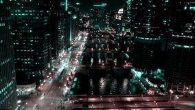 Chicago - Future City stock footage