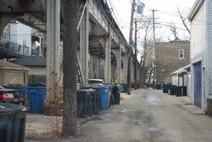 Chicago-Gasse lizenzfreie stockfotografie