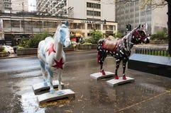 Chicago gata Arkivfoton