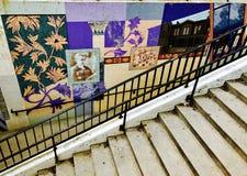 Chicago gatakonst Arkivbild