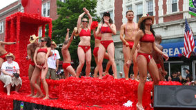 Chicago Gay Pride Parade Stock Image
