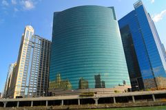 Chicago glass Royalty Free Stock Images