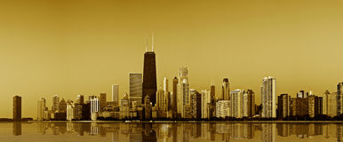 Chicago gold coast. Stock Images
