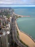 Chicago Gold Coast Fotografering för Bildbyråer