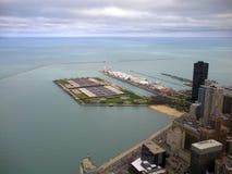 Chicago Gold Coast arkivbilder
