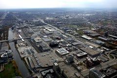 chicago högt panoramatorn Arkivbild