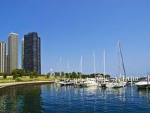 Chicago-Hafen Lizenzfreies Stockfoto
