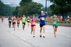 Chicago Half Marathon Royalty Free Stock Photo