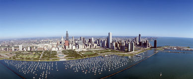 Chicago hamn royaltyfri bild