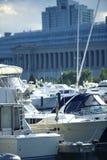 Chicago Harbor royalty free stock image